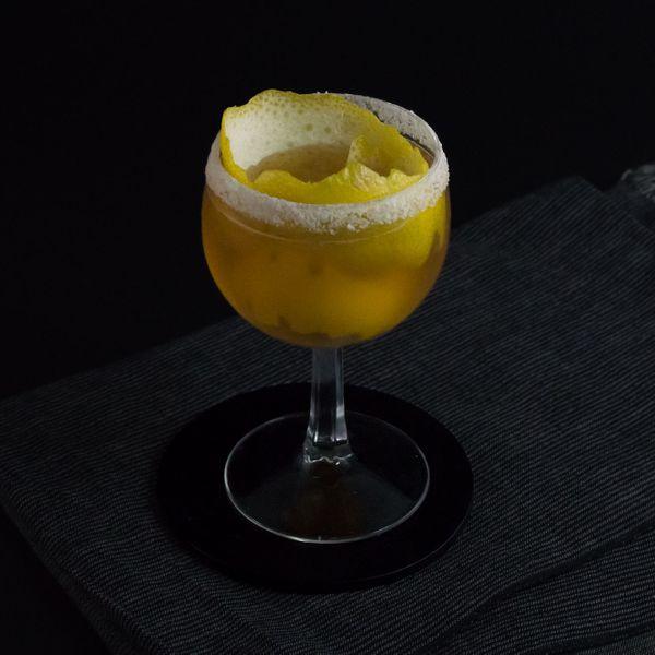 Brandy Crusta cocktail photo