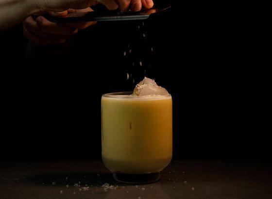 Buttermilk Flip cocktail photo