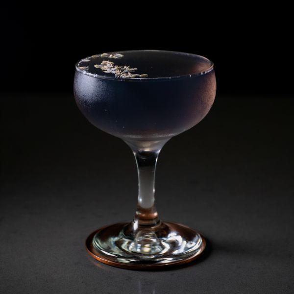 Lavender Lady cocktail photo