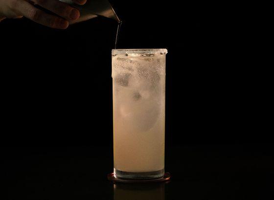 Paloma cocktail photo