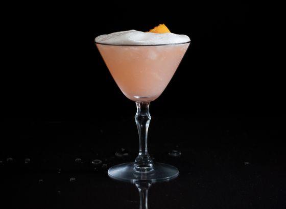 Punch a la Romaine cocktail photo
