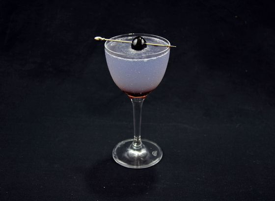 Aviation cocktail photo