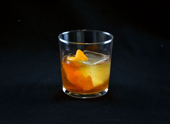 Old Fashioned cocktail photo