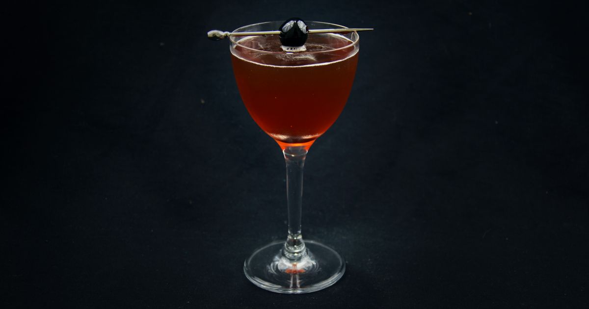 Manhattan Cocktail Tuxedo No 2