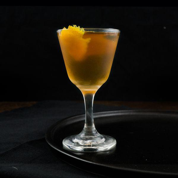 Martinez cocktail photo