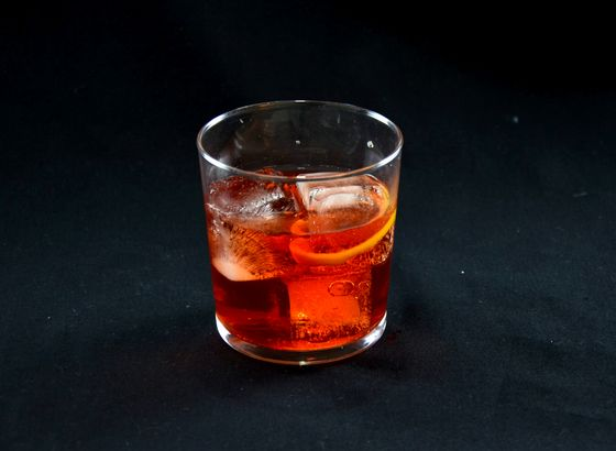 Negroni cocktail photo