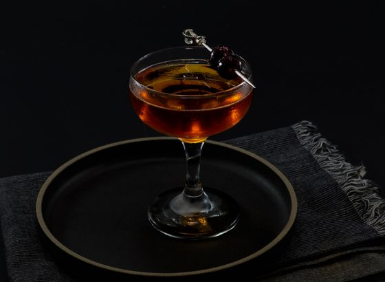 Rob Roy cocktail photo
