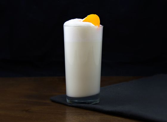Ramos Gin Fizz cocktail photo